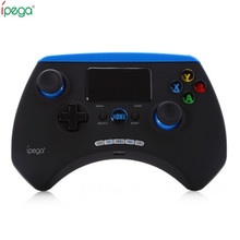 iPega PG-9028 wireless bluetooth V3.0 game controller joystick gaming vendedor with touchpad For iPhone& iPad Android PC
