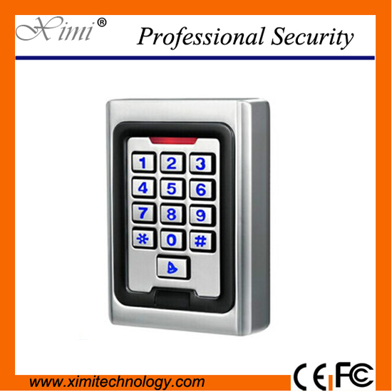No Software Standalone Metal Access Control Lcd Keypad Surface +10 Keys Waterproof Door Access Controller System metal rfid em card reader ip68 waterproof metal standalone door lock access control system with keypad 2000 card users capacity