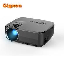 Gigxon-G700 Mini Proyector 1200 Lúmenes Multimedia Digital LED Película de Cine En Casa Projetor Full HD Proyector Para El Entretenimiento