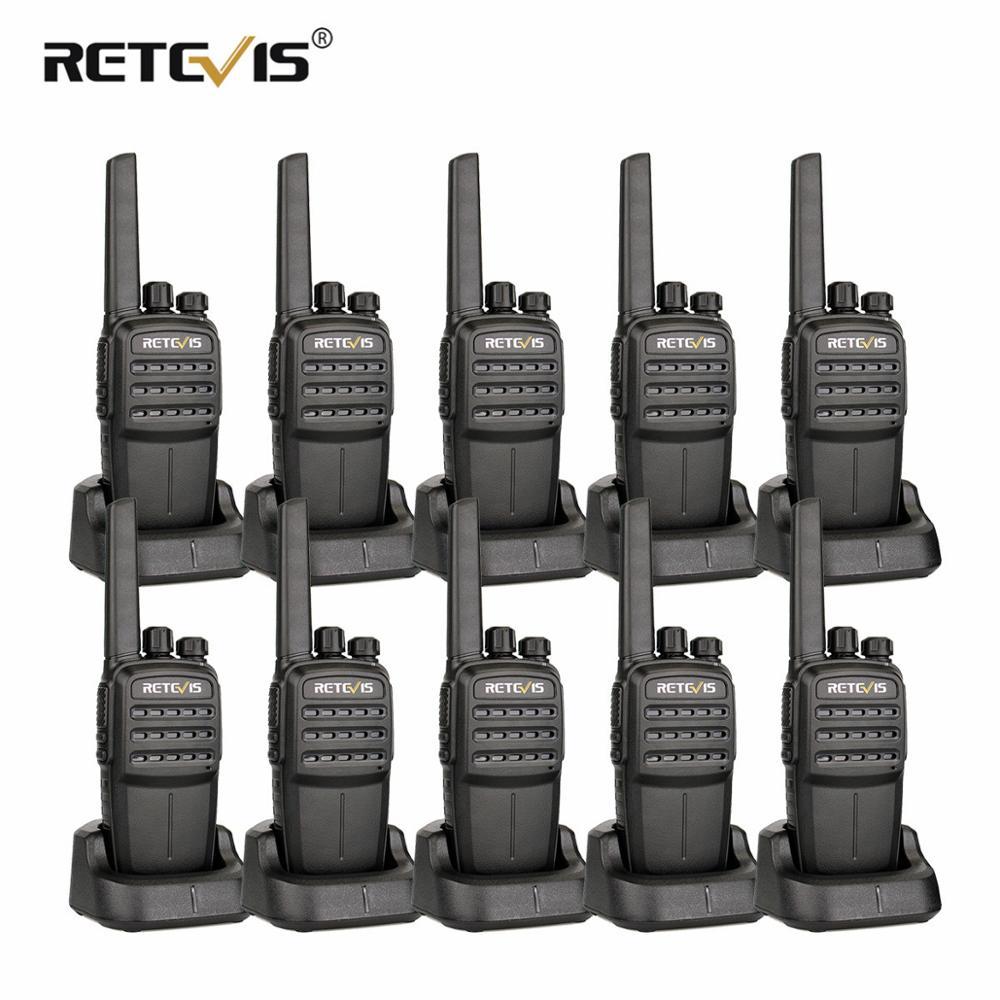 10 pièces RETEVIS RT40 DMR Numérique PMR Radio Talkie Walkie FRS/PMR446 446 MHz 0.5 W VOX USB De Charge privé/Groupe Appel Radio Bidirectionnelle