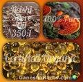 (500 mg * 5000 Cápsulas) 350: 1 Duan-Madeira Ganoderma Lucidum/Reishi Spore Extrair o Óleo Triterpene30 %