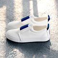 Free shipping 2017 spring new fashion women shoes classical casual colorful canvas loafers platform women casual shoes