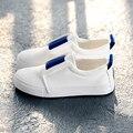 Envío gratis 2017 primavera nuevas mujeres de la moda zapatos casuales clásicas de colores mocasines de lona de plataforma zapatos de las mujeres ocasionales