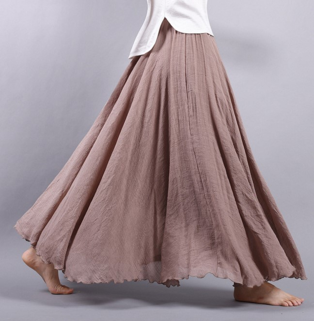 Compare Prices on Long Plain Skirt- Online Shopping/Buy Low Price ...