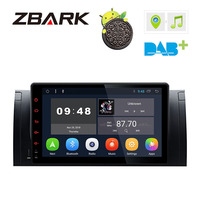 9 Android 8.1 Multimedia Touch Screen Car Stereo Radio Player GPS OBD WIFI FM for BMW X5 E53 1999 2004 2005 2006 YH53901A