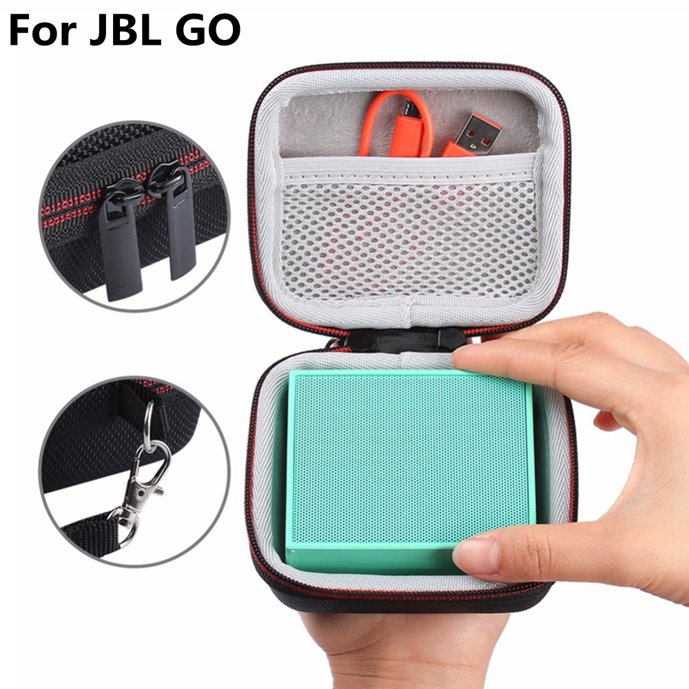 portable storage carrying bag pouch box for jbl go. Black Bedroom Furniture Sets. Home Design Ideas
