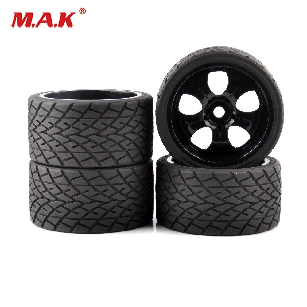 4pcs/set 1/8 Wheels Tires& Rims 17mm Hex Diameter 139mm For 1:8 RC Model Bigfoot On-Road Car 4pcs 3 2 rubber rc 1 8 wheels