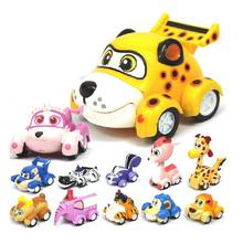 12pcs/set Anime Vroomiz Classic Kawaii South Korea Friction Pull Back Cars Cartoon Toys For Children gift Baby Wind Up Toys