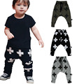 Kids Harem Pants Boys Girls Harem Pants Cross Star Design Toddler Boys Trousers Children Boys Casual Sport Pants Baby Clothes