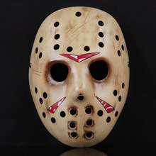Resin Jason Mask Cosplay Halloween Freddy Hockey Festival Party Masquerade