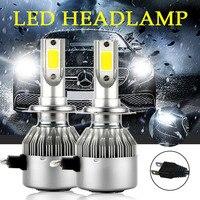 Super Bright Light Led 72W 7600lm H7 Led H4 H1 H3 H11 9005 9006 Car Led