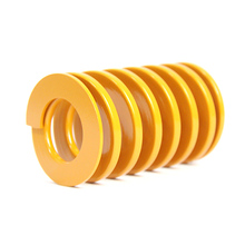 Od 50mm Id 25mm,H50-300, Light Load Compression Mould Die Spring Yellow