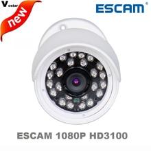 Free shipping ESCAM HD3100 1080P outdoor waterproof Onvif IR IP66 Waterproof IR 20M MINI Bullet cctv
