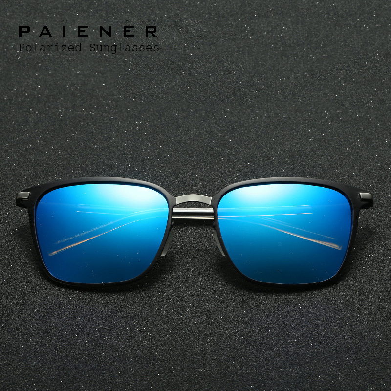 Hot HD Polarized sunglasses Men Women with Accessories brand designer Vintage Eyewear Driving Sun Glasses for men oculos de sol