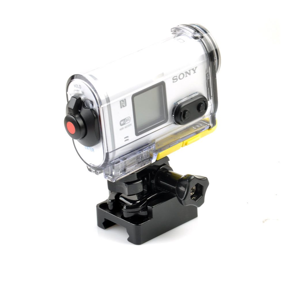 US $11 04 15% OFF|Picatinny Weaver Gun Hunting Rail Mount+Buckle For Hdr  AS100v AS50V AS200V Action Cam Accessories-in Sports Camcorder Cases from