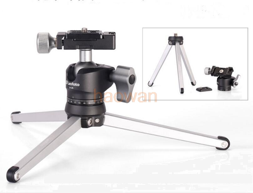 MT-01 table stand Portable Foldable Aluminum alloy Desktop Macro tripod Holder with Ball Head for Landscape Camera Video mefoto a0320q00 aluminum alloy mini camera tripod portable desktop tripod stand support steady hold camera with tripod head