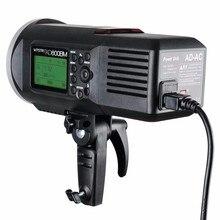 Godox ad600 ad-AC 100-240 В Источники питания адаптер с кабелем для ad600b ad600bm ad600m ad600