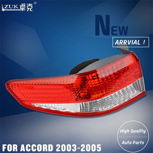 Zuk Brand New Left Right Outer Tail Light Lamp Rear Brake For Honda Accord Cm4 Cm5 Cm6 2003 2004 2005