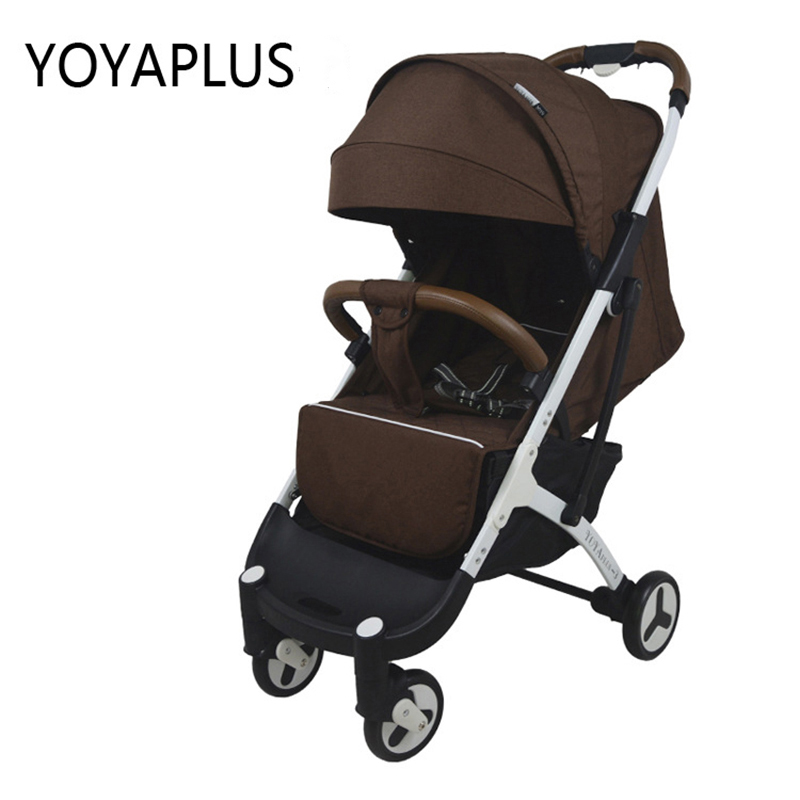 New yoyaplus-2 baby trolley, portable umbrella car can sit on board, boarding baby baby carrier baby stroller 2018 europe no tax 2018 yoyaplus baby stroller lightweight folding umbrella car can sit can lie ultra light portable on the airplane