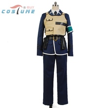 RAIL WARS! Sho Iwaizumi Uniform Vest Coat Suit Shirt Tie Pant For Men Anime Halloween Cosplay Costume Custom Made New Arrival