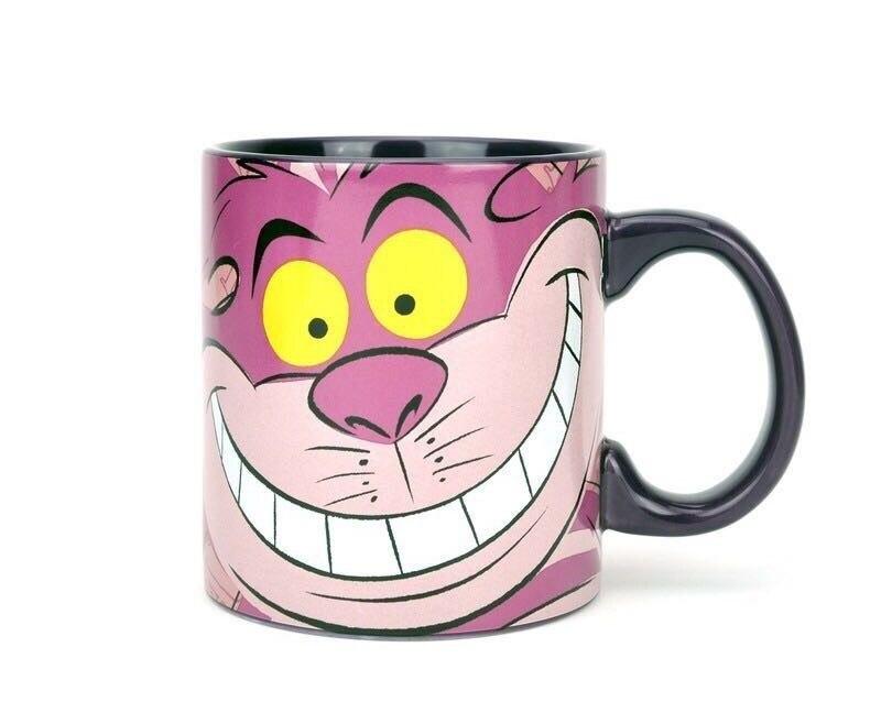 Cute Cartoon Alice Nel Paese Delle Meraviglie Cheshire Cat Porcellana da Tè In Ceramica Tazza di Caffè Tazza Regalo Di Compleanno di Raccolta