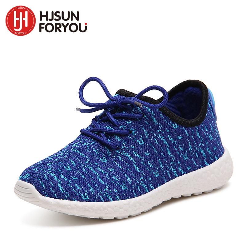 Merek baru 2019 anak-anak desainer sepatu fashion anak-anak sneakers berkualitas baik laki-laki perempuan sepatu olahraga sepatu kasual bernapas