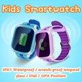 2016 gps smart watch relógio de pulso chamada sos localizador localizador dispositivo Monitor de Rastreador para As Crianças em Segurança Anti Perdido PK Q50 Q80