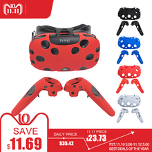 2121b14d6c13 For HTC VIVE VR Virtual Reality Headset Anti-slip Wireless Control Gamepad  Shell Silicone Case