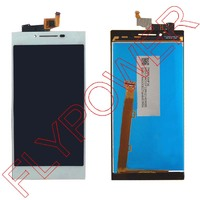 For Lenovo P70 Display LCD Screen With Touch Screen Digitizer Assembly In Black And White Color