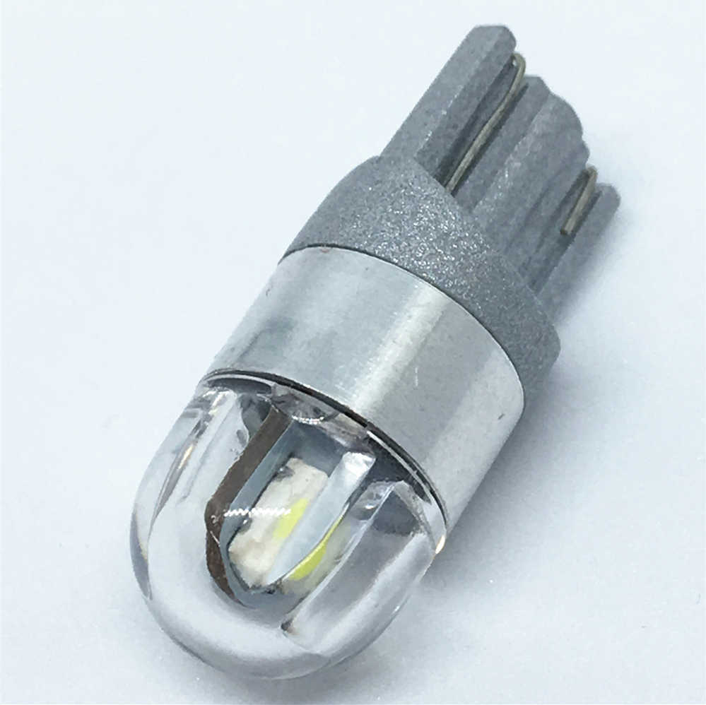 1pcs T10 led Car Light SMD 3030 W5W 192 501 white light Tail Side Bulb Wedge Parking Dome Light Marker Lamp  WY5W Canbus