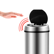 Geekinstyle 6L 9L 12L Infrared Touchless Multifunction Automatic Sensor Waste Bin