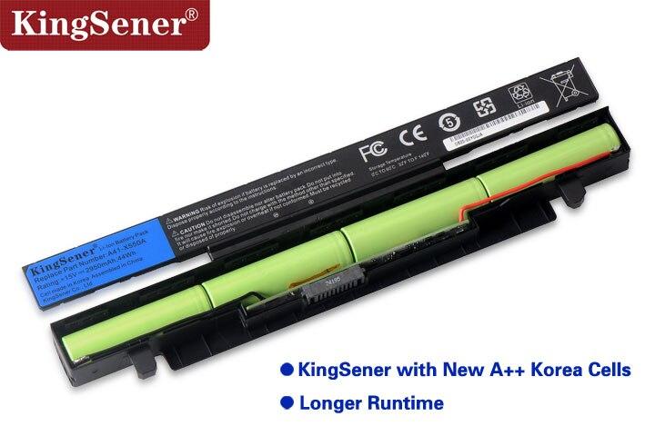 15 V 2950 mAh Corea celular nuevo A41-X550A batería del ordenador portátil para ASUS A41-X550 X450 X550 X550C X550B X550V X450C X550CA x452EA X452C - 2