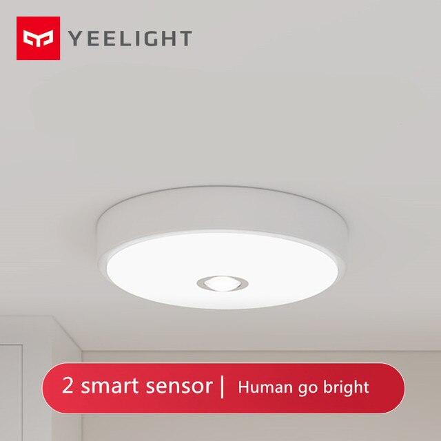 [Caliente] Xiaomi mi jia Yeeligh t Sensor Led techo de mi ni cuerpo humano/motion Sensor de luz mi ni inteligente motion noche mi luz para el hogar