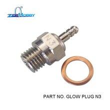 Glow Plug N3 for Nitro rc cars