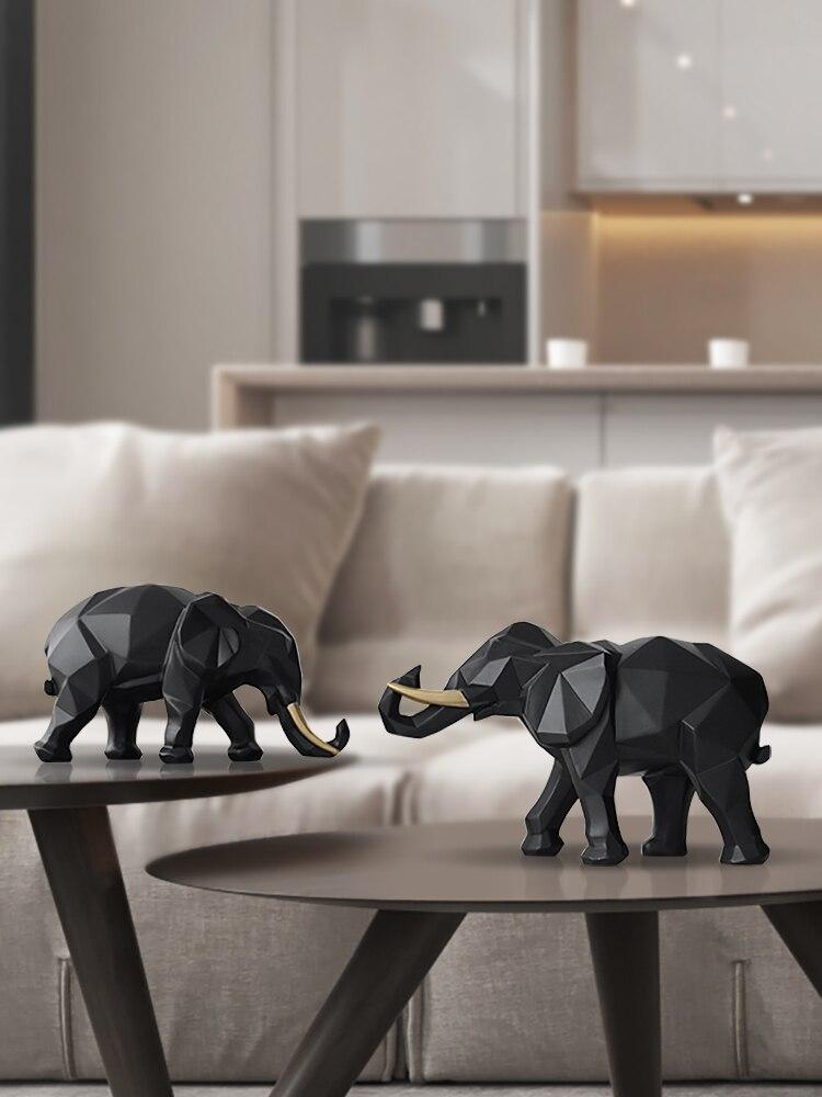 éléphant en verre transparent largeur:2,5cm et hauteur:4cm