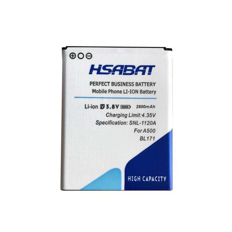 Details about HSABAT New 2800mAh BL171 Mobile Phone Battery for Lenovo a319  A356 A368 A370e A3