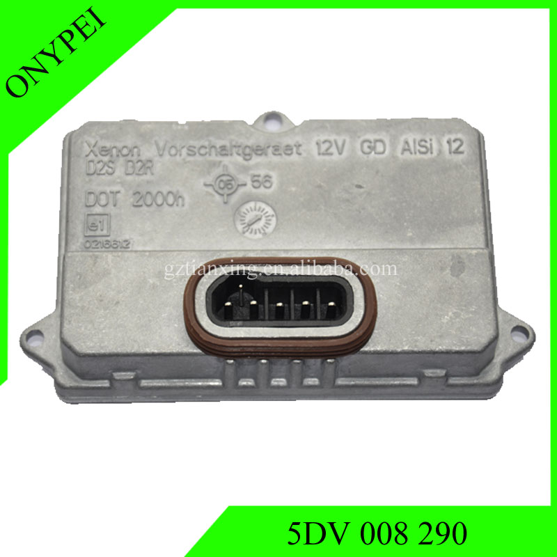 Hot sales 5DV008290 12v HID Xenon Ballast Headlight Control Computer 5DV 008 290 For D2S D2R