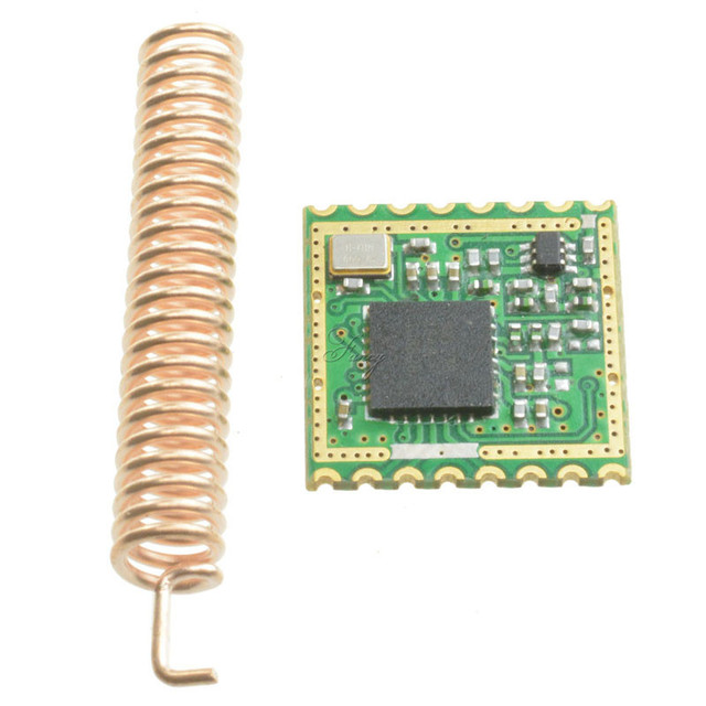 US $3 96 |433Mhz Lora SX1278 Long Range RF Wireless Module SPI DRF1278F  Build in Temperature Sensor For Arduino-in Instrument Parts & Accessories  from