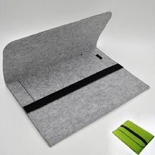 13″ Hot Portable Wool Felt Soft Laptop Bag Notebook Liner Sleeve Cloth Cover Mac Tablet PC Pouch Case For 11 13 15 inch Oc 25