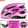 Kingbike capacete de bicicleta ultraleve, capacete de ciclismo para montanha, estrada, mtb, capacetes de luz traseira para homens e mulheres, esportes ao ar livre 11