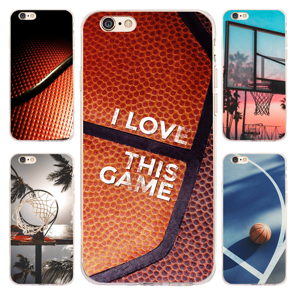 24ba6cdba87 Fundas Sport Basketball Game Clear Soft Silicone Phone Cases for iPhone XS  Max XR X 7 8 6 6S Plus 5S 5 SE 5C 4S 4 iPod Touch 6 5