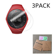 3Pack For Polar M200 7H Nano Explosion proof Screen Protector High Definition GPS Running Smart Watch Anti shock LCD Guard Film