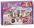 BELA 10496 Amigos do Parque Da Cidade Cafe Building Blocks Set Menina Amigo Amigos Figuras Bricks Brinquedos Compatível para o Presente Meninas