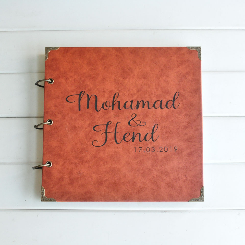 Personalized Photo Album Wedding Memories Photo Album Wedding