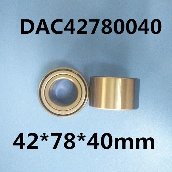 1pcs DAC42780040 42*78*40mm High Quality Bearing auto bearings hub car bearing free shipping 1pcs dac3055w dac30550032 30x55x32 305532 high quality bearing auto bearings hub car bearing