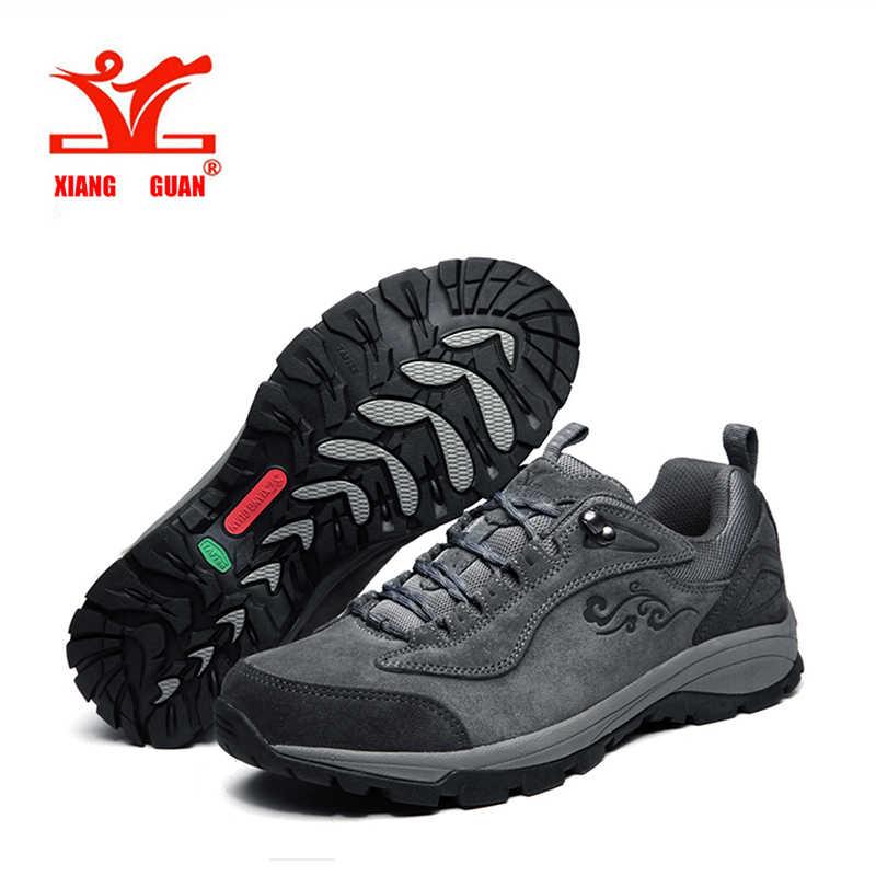 2017 Xiangguan/для бега; кроссовки для прогулок облака внедорожные серый обувь коричневого цвета для мужские зимние из водонепроницаемого материала; Большие европейские размеры 39-45