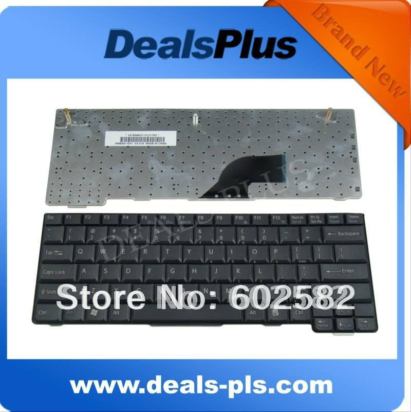 FOR Brand New Sony Vaio VGN-T Series T140 T240PL T250L US Keyboard 147898681 Black brand new original keyboard forsony vaio vgn nr vgn ns vgn nr ns with frame service us version black colour us layout