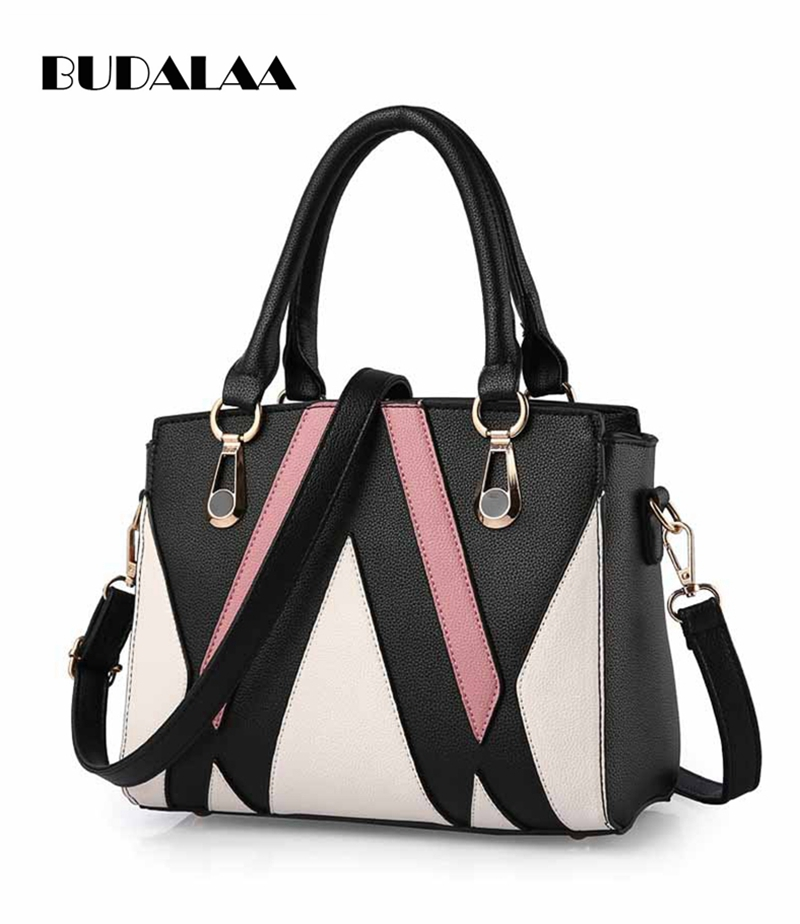 Budalaa New Style Best Brand Women Handbag M Lady Trend High Quality PU Leather More Bags For Women Large Capacity Soft Handle best bags fashion lady 1301 71
