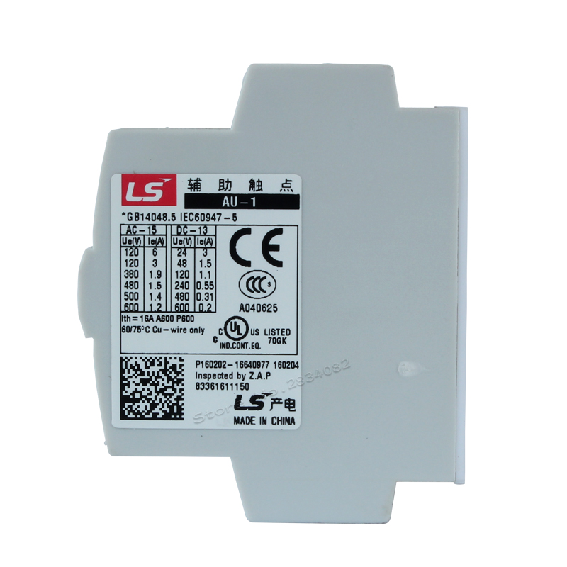 Aliexpress.com : Buy 1NO 1NC contactor for contact AU 1 Auxiliary ...