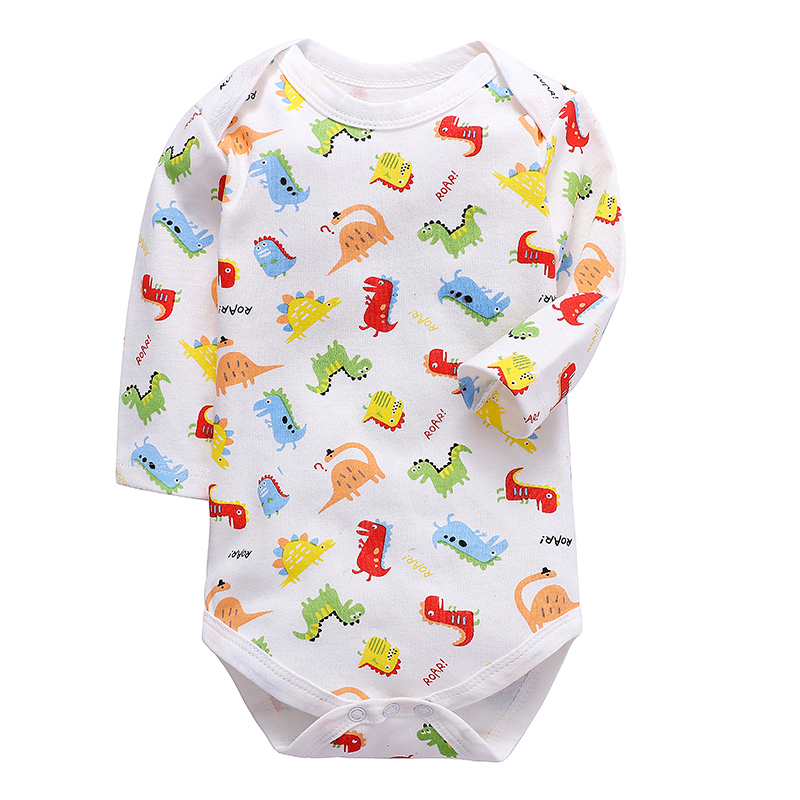 Babies Boys Clothing Bodysuit Newborn Baby Girls Long Sleeve Body 100% Cotton 3 6 9 12 18 24 Months Clothes